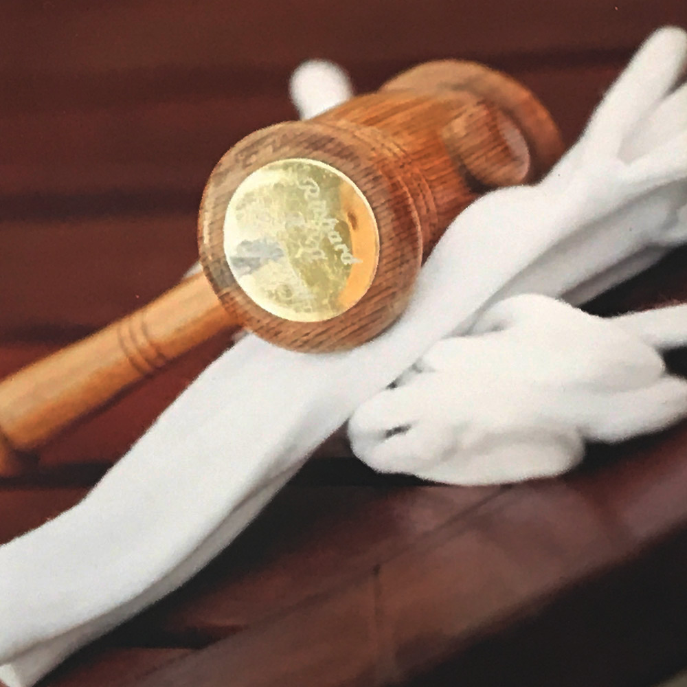 Gloves and Gavel